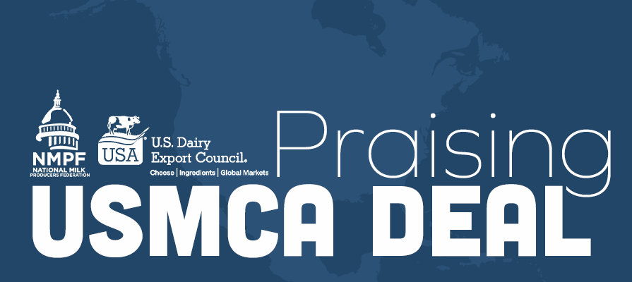 U.S. Dairy Industry Praises Administration and Congress for Final Passage of USMCA