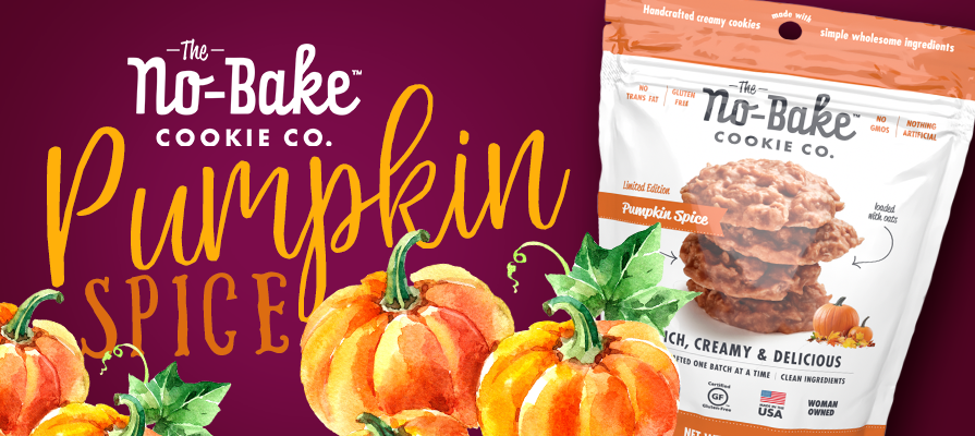 The No-Bake Cookie Co. Rolls Out Pumpkin Spice Flavor Just in Time for Fall