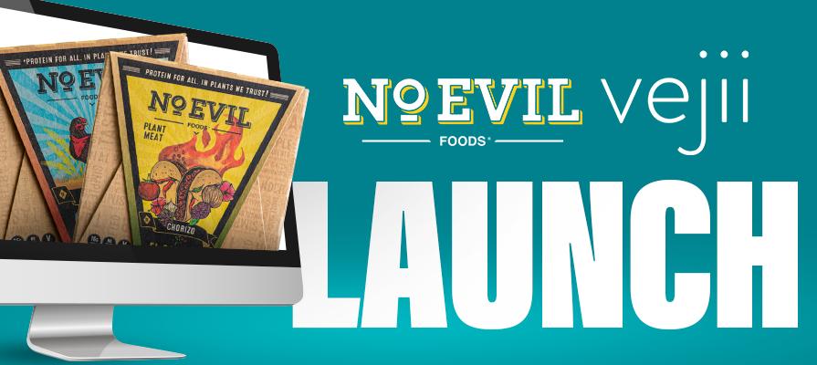 Vejii Launches Iconic Brand No Evil Foods on ShopVejii.com