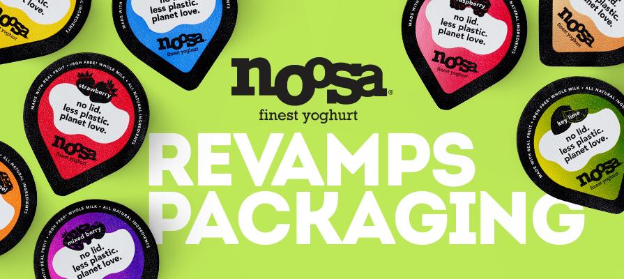 noosa Yoghurt Revamps Packaging
