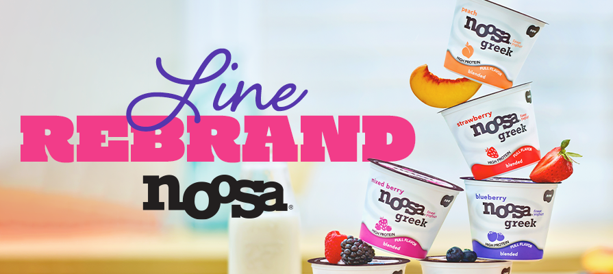 noosa Yoghurt Rebrands Line as noosa Greek