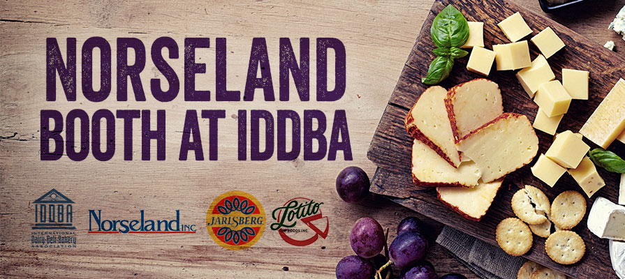 Norseland's Jarlsberg® and Lotitos to Showcase Latest Products at IDDBA