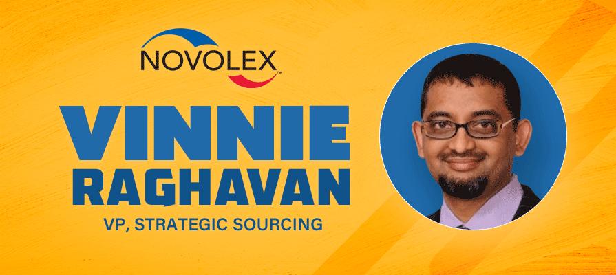 Novolex Announces New Vice President of Strategic Sourcing, Vinnie Raghavan