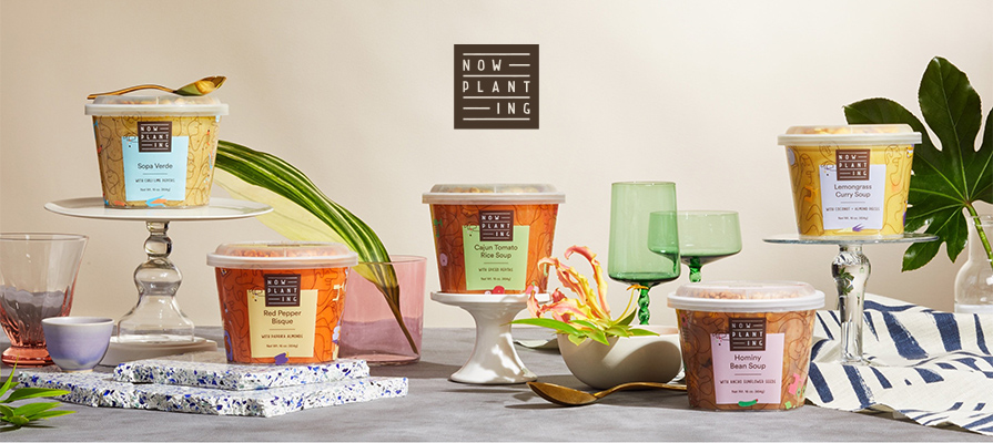 Now Planting Offers Line of 100% Plant Based Soups