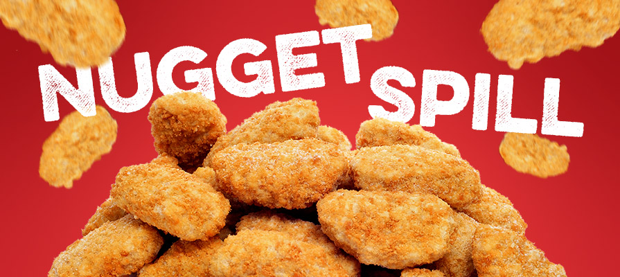 Truckload of Chicken Nuggets Spills at Tennessee Intersection