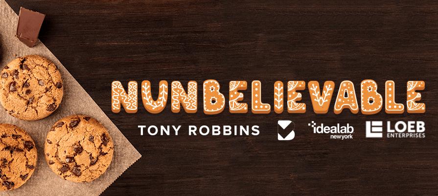 Tony Robbins Debuts Nunbelievable Organic Bakery