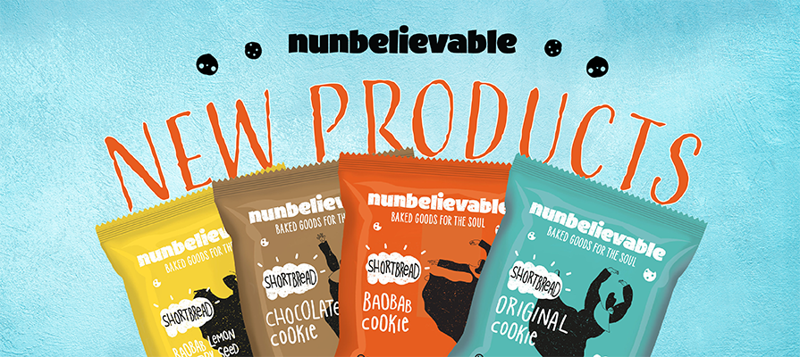 Nunbelievable Introduces New 100-Calorie Shortbread Cookies Featuring Emerging Superfood Baobab