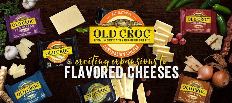Old Croc Introduces Exciting Extensions to Its Flavored Cheese Line