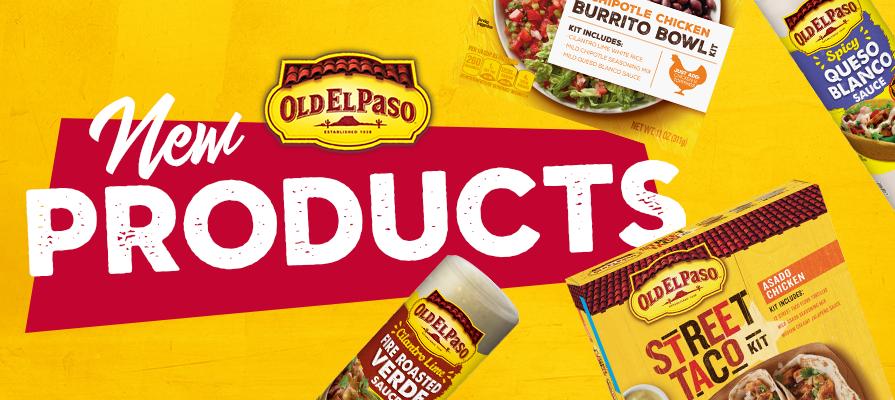 Old El Paso Reveals New Burrito Bowls, Taco Kits, and More; Jonathan Pandit Comments