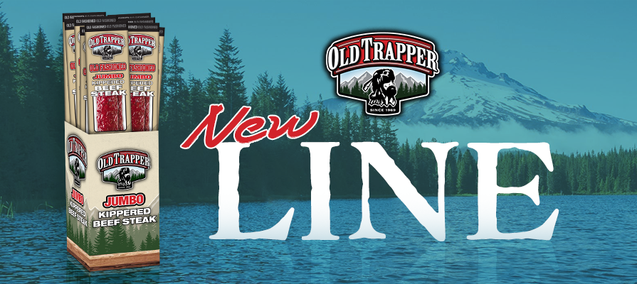 Old Trapper Introduces Jumbo Kippered Beef Steak Snacks for Satisfying Winter Snacking