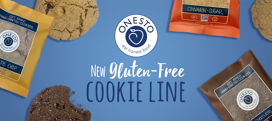 Onesto Foods Launches New Cookie Line in Whole Foods Markets