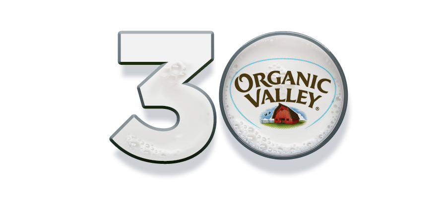 Organic Valley Meets 30th Year Anniversary With $1.1 Billion in Annual Sales