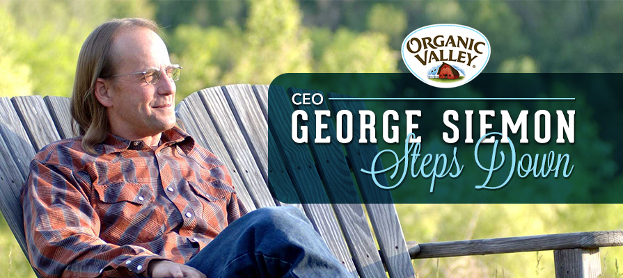 Longtime CEO and Co-Founder George Siemon Leaves Organic Valley