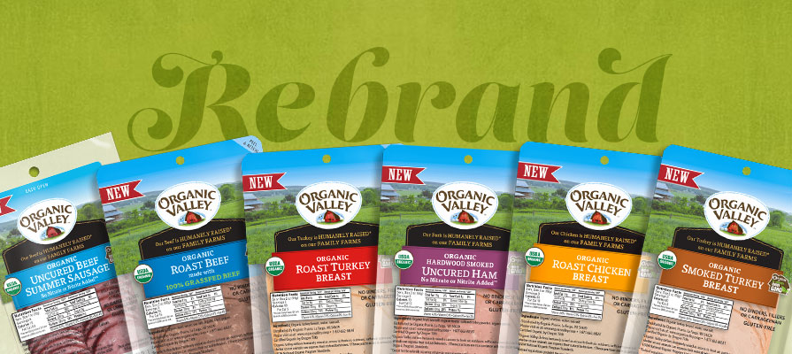 Organic Valley Rebrands its Deli Meat Offerings