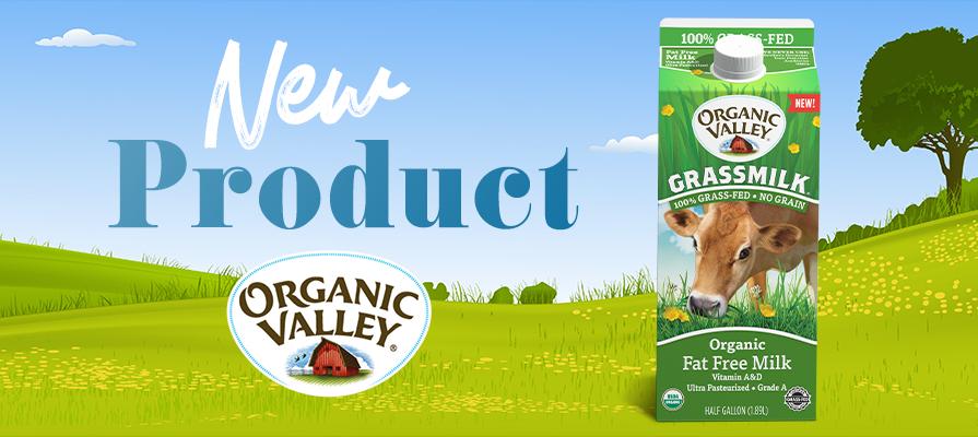Organic Valley Expands Grass-Fed Product Line With Fat Free Grassmilk®
