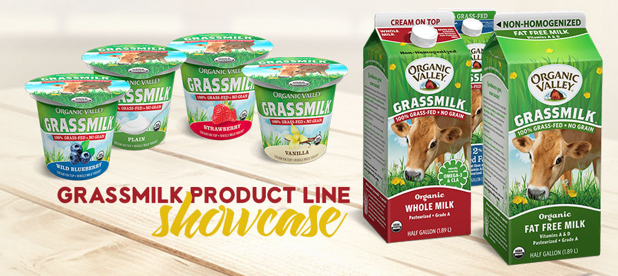 Organic Valley Showcases Line of Grassmilk Products