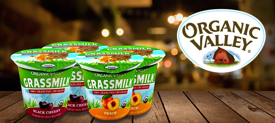 Organic Valley Announces New Grassmilk® Black Cherry and Peach Yogurt Flavors