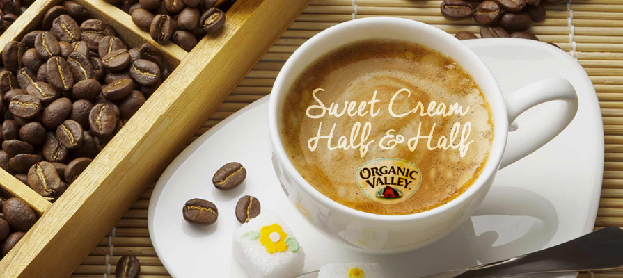 Organic Valley Launches First Organic Sweet Cream Half & Half