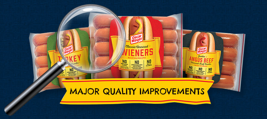 Oscar Mayer Announces Major Quality Improvements to Its Iconic Hot Dogs