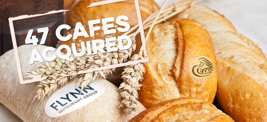 Flynn Restaurant Group Acquires 47 Panera Bakery Cafes
