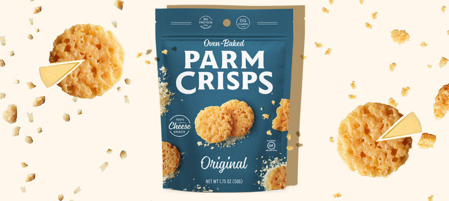 ParmCrisps Corners Snacking Category