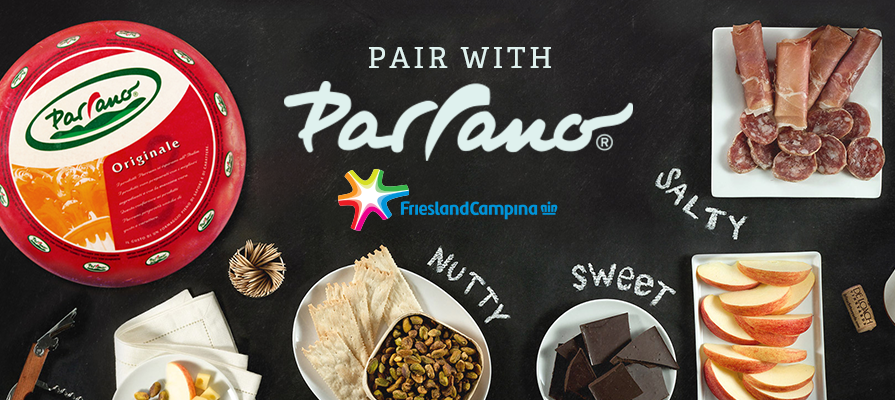 FrieslandCampina Launches  Pair with Parrano  Campaign