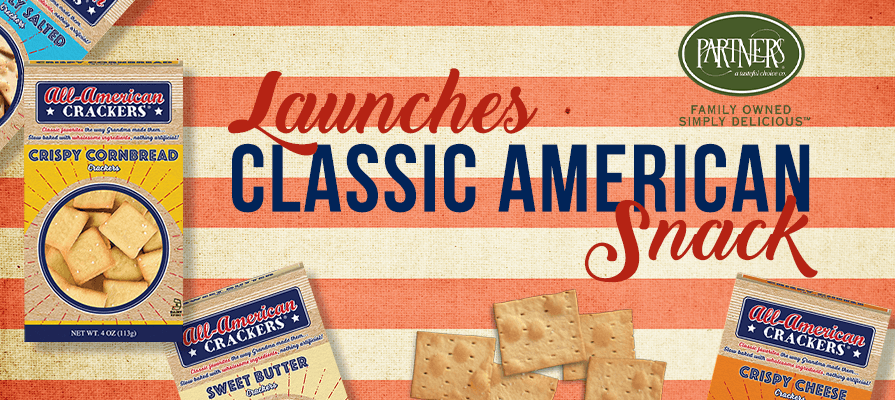 PARTNERS® Launches All-American Cracker Brand