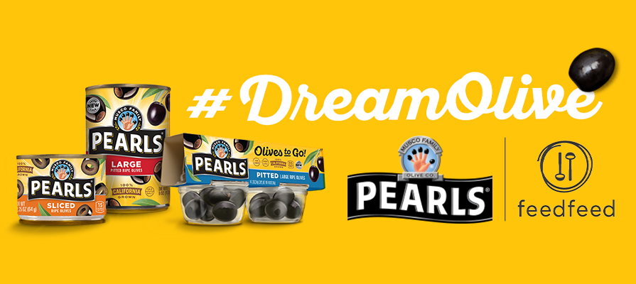 Pearls® Olives and Influential Chefs Team Up for New #DreamOlive Initiative Launching June 1, National Olive Day