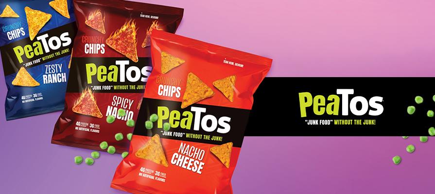 PeaTos® Debuts New Tortilla Chip Line; CEO Nick Desai Details