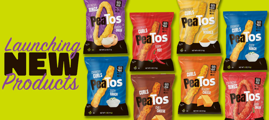 PeaTos™ Announces New Product Line of Crunchy Onion Rings