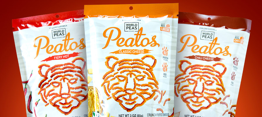 World Peas Brand Introduces Four Flavors of This Plant-Based Snack