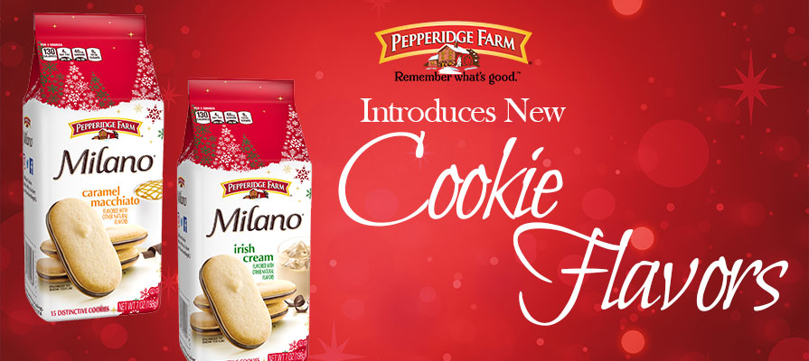 Pepperidge Farm Milano Cookies Milano Unveils Two New Cookie Flavors