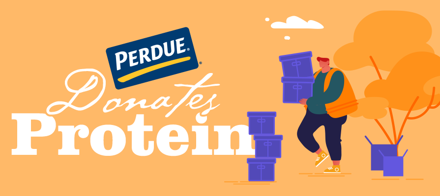 Perdue Marks Another 140,000 Pounds Of Protein Donated to Food Banks Amid COVID-19