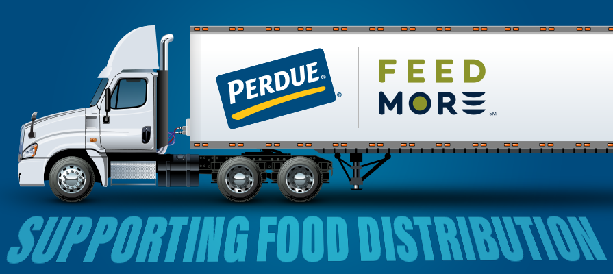 Perdue Farms $100,000 Grant Provides Feed More New Refrigerated Tractor-Trailer To Support Food Distribution Amid Pandemic