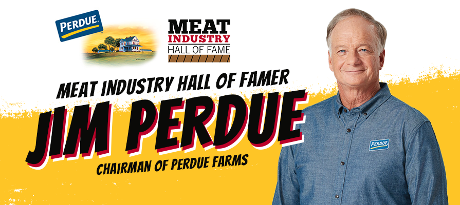 Jim Perdue, Chairman of Perdue Farms, is Named to the Meat Industry Hall of Fame