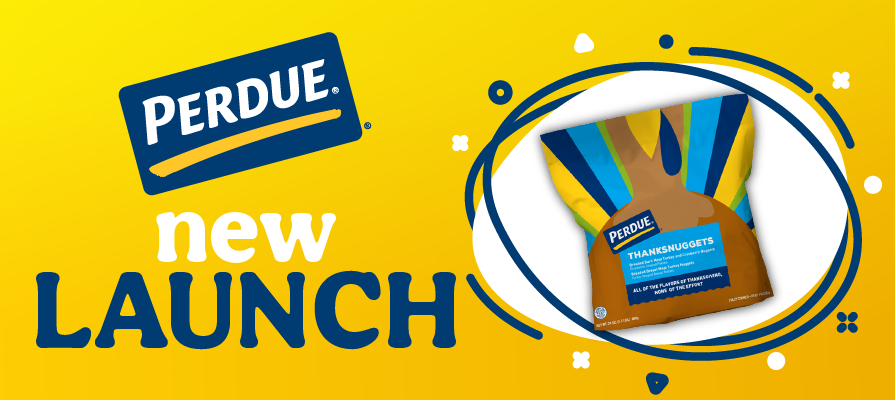 PERDUE® Launches Thanksgiving Turkey Nuggets Ahead of Bite-Sized Holiday Gatherings in 2020