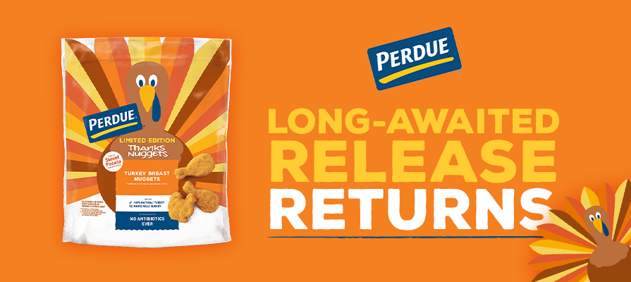 Perdue Farms Relaunches THANKSNUGGETS™ Ahead of the Holiday Rush; Jon Swadley Explains