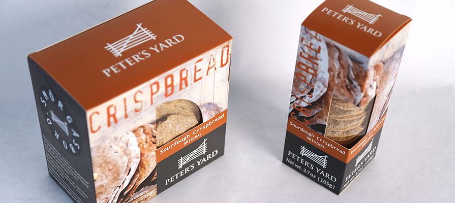 Peter's Yard Debuts Swedish Recipes in U.S. with Crispbread Line
