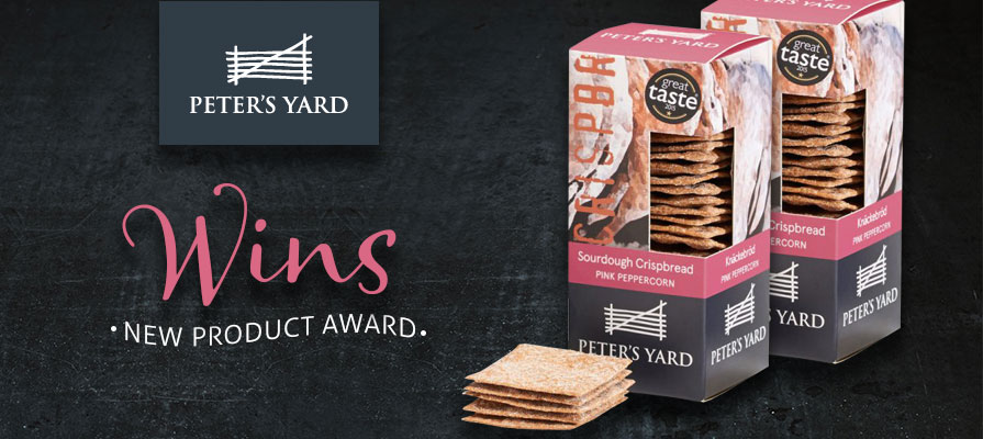 Peter's Yard Wins New Product in Cracker sofi™ Awards