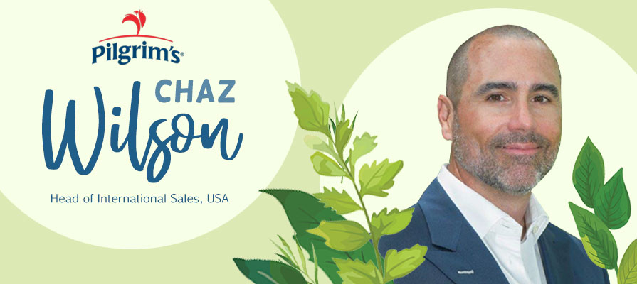 Pilgrim's USA Names Chaz Wilson as Head of International Sales