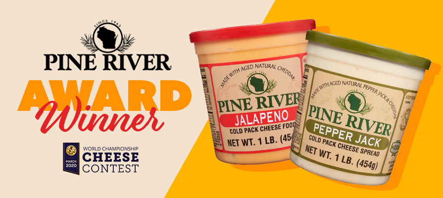 Pine River Wins Two Best-in-Class Awards at World Championship Cheese Contest