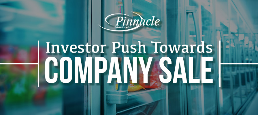 New Activist Investor Pushes Pinnacle Foods to Explore Sale