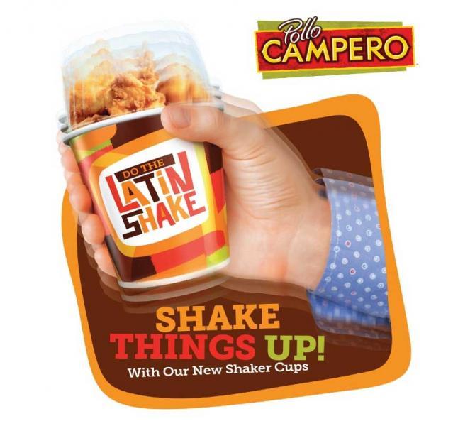 Pollo Campero Unveils New 'Latin Shakers'