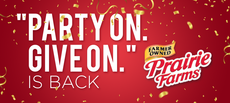 Prairie Farms' 'Party On Give On' Holiday Campaign is Back