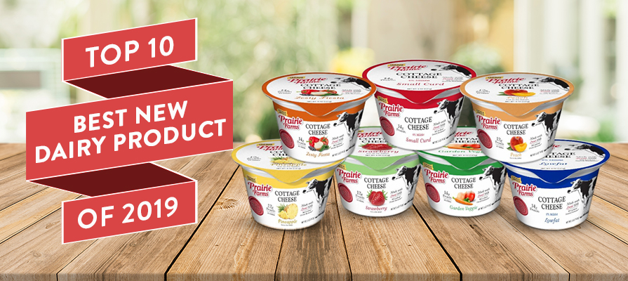 Prairie Farms Small Batch Cottage Cheese Cups Voted Top 10 Best New Dairy Product of 2019