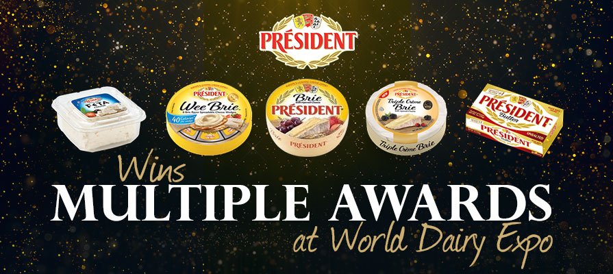 Président® Cheese Snags Awards at World Dairy Expo