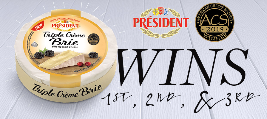 Président® Brand Cheese Wins Accolades at the American Cheese Society Judging and Competition