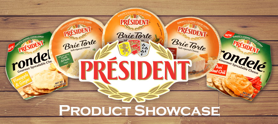 Président Cheese Offers Flavorful Varieties of Brie Cheeses