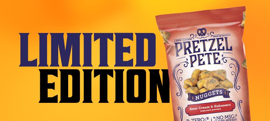 Pretzel Pete Reveals New Sour Cream Habanero Pretzel Nuggets; Karl Brown Discusses