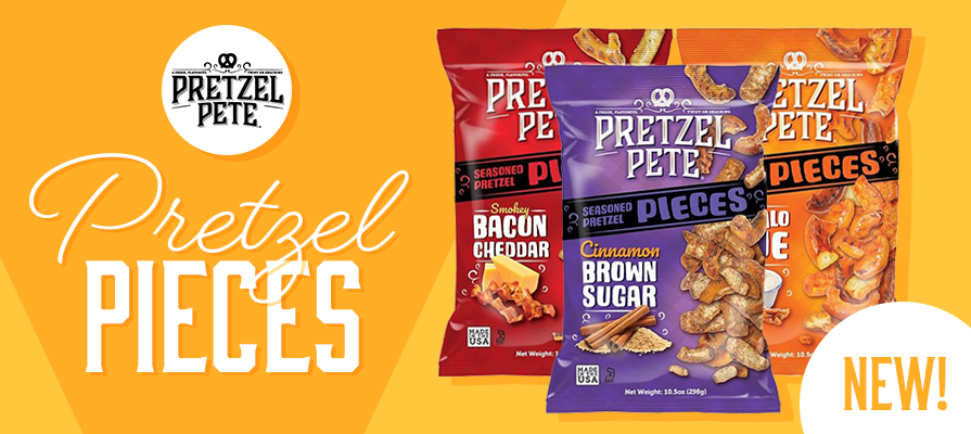 Pretzel Pete Launches Three New Gourmet Pretzel Flavors